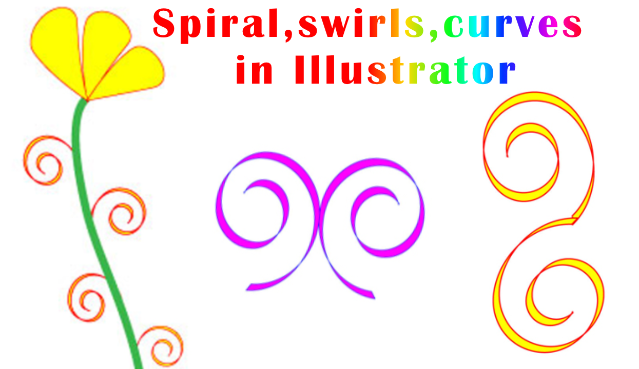 spiral curves illustrator