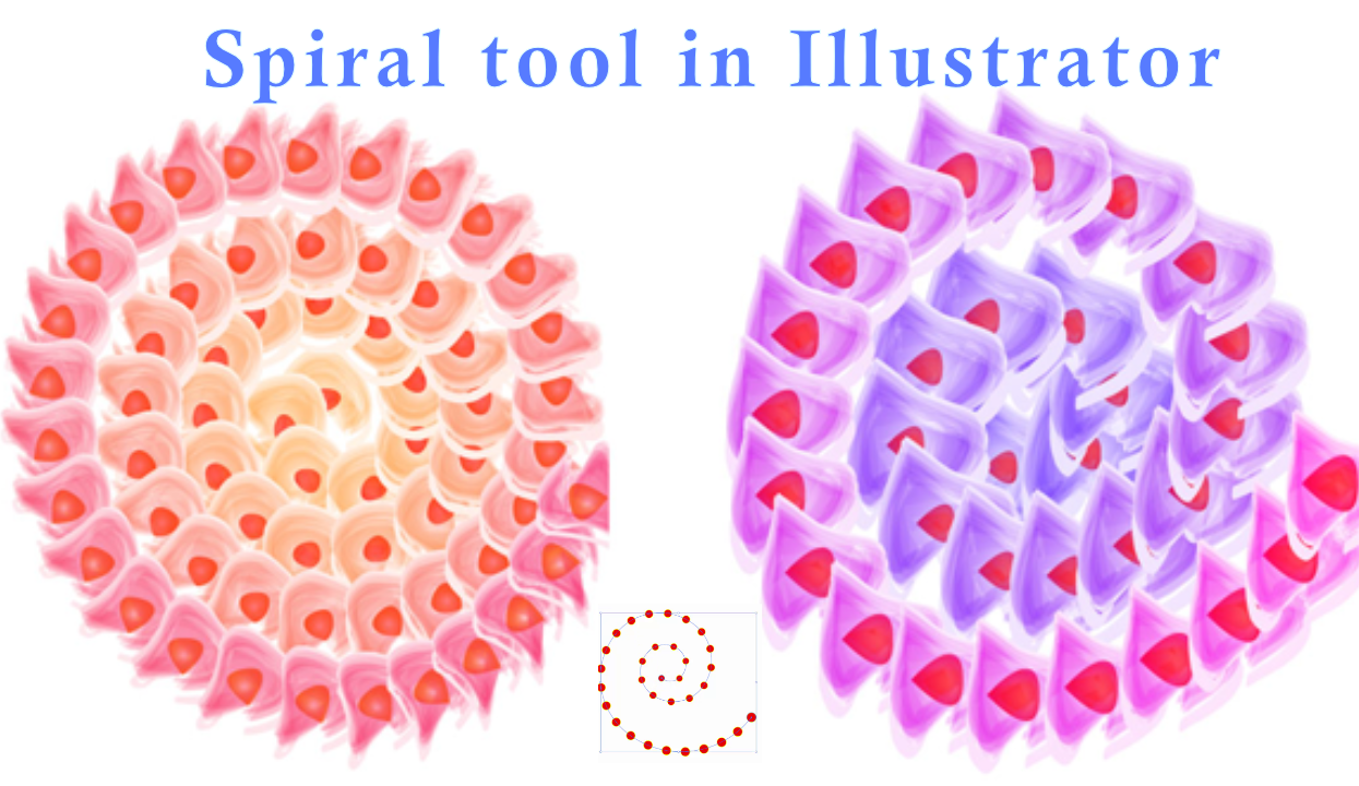 spiral in illustrator