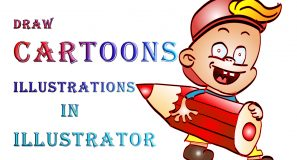 Draw cartoons in illustrator