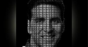 text portrait in affinity